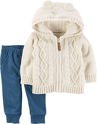 Carter's Baby Boys' 2 Piece Jacket and Joggers Set