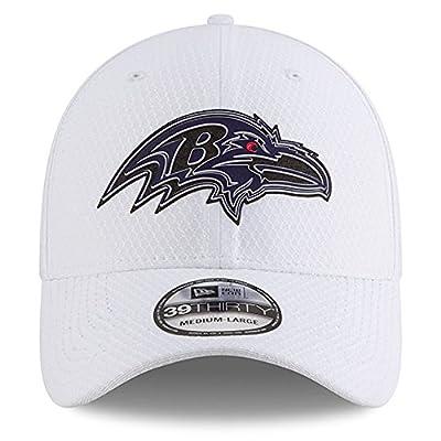New Era Baltimore Ravens 2018 Training Camp 39THIRTY Flex Hat – White
