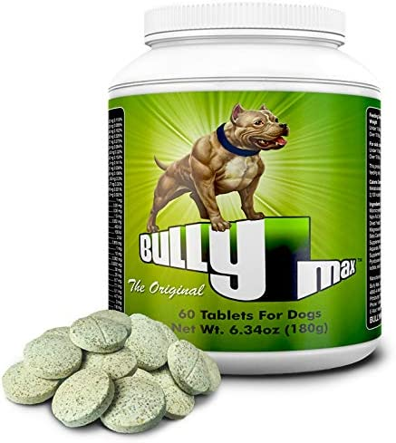 Bully Max Dog Muscle Supplement 60 pills 240-Pills