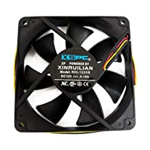 XSPC Xinruilian 120mm 1650 RPM Fan (Excellent Static Pressure Rating - Great for use on Radiators and CPU Coolers!)