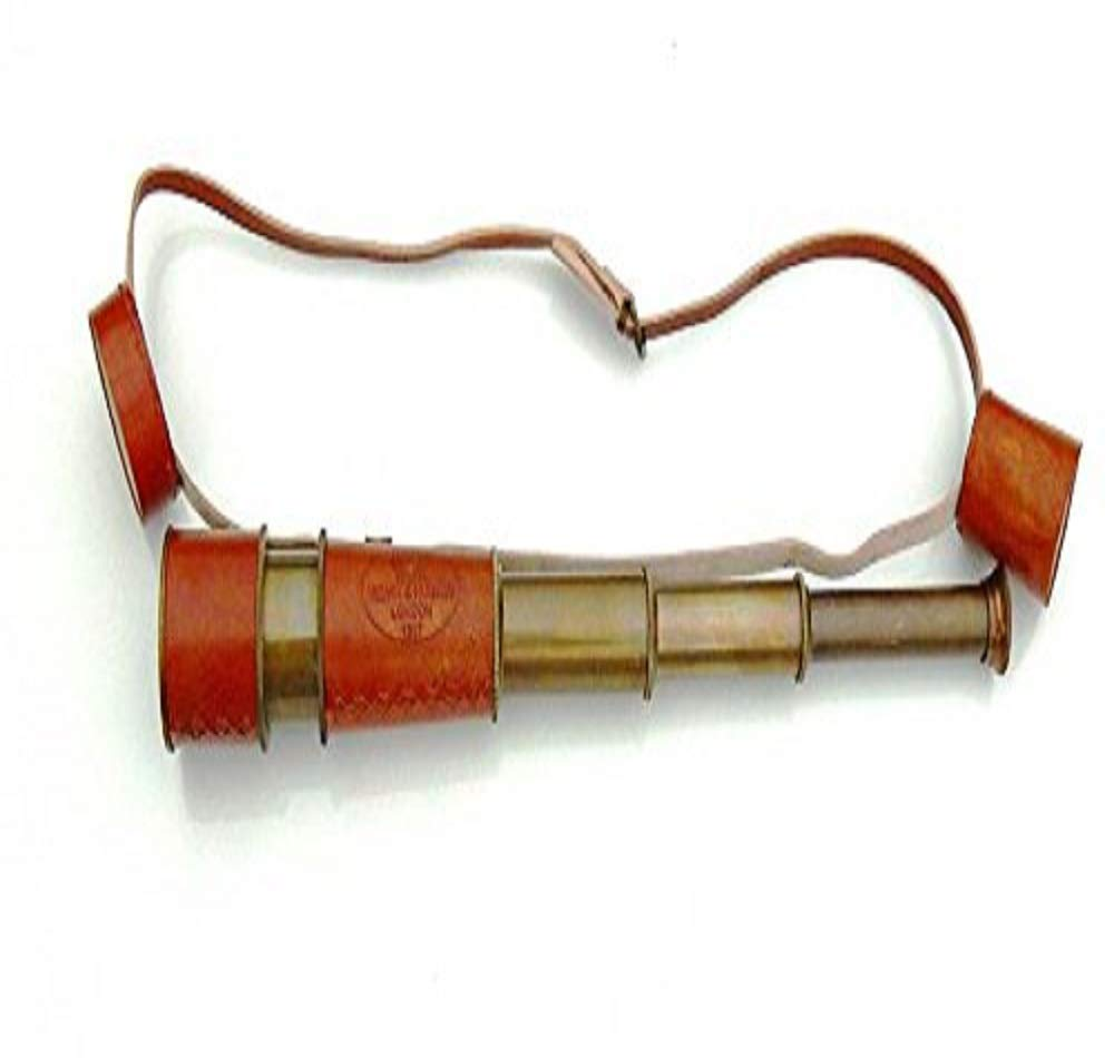 HONGSHENG Monocular - with Leather Goods for Carrying Telescopes by HONGSHENG