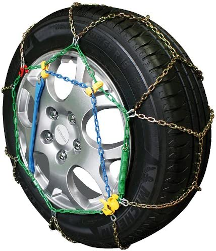 Cora GDO1421 Snow Chains for Cars X9 9 mm 2 Pieces