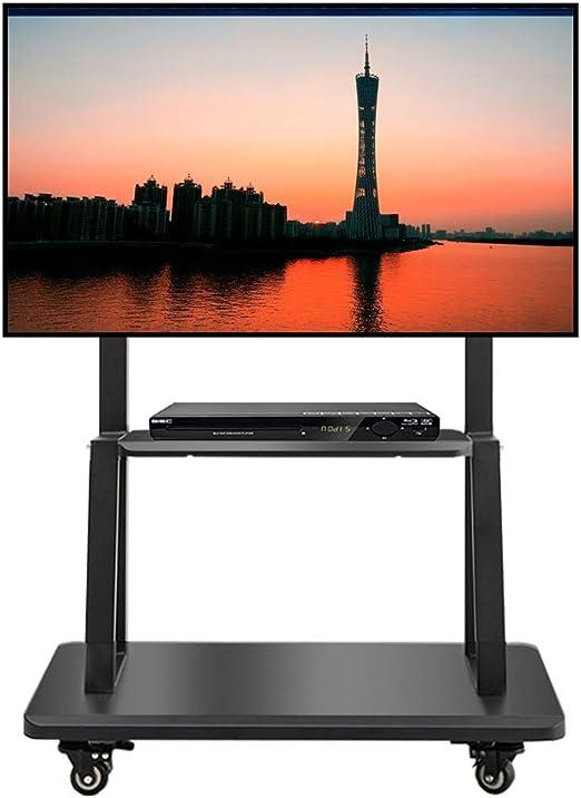 Soporte TV Trole Carro de TV móvil for 32/42/49/55/65/75 pulgadas ...