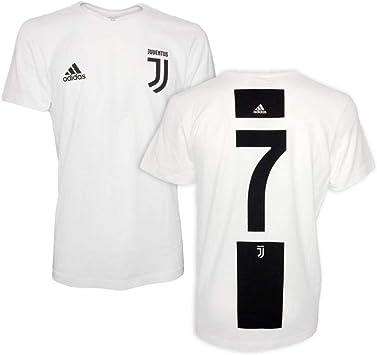 Adidas Juventus Graphic 2018-2019, Camiseta, White-Black: Amazon.es: Ropa y accesorios