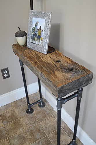 Amazon Com Barn Wood Foyer Table Handmade
