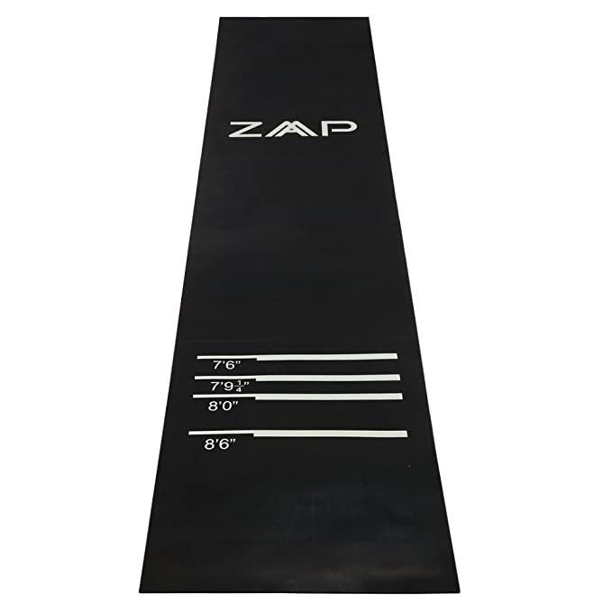 ZAAP Heavy Duty Throw Line Rubber Dart Mat – Editor's Choice