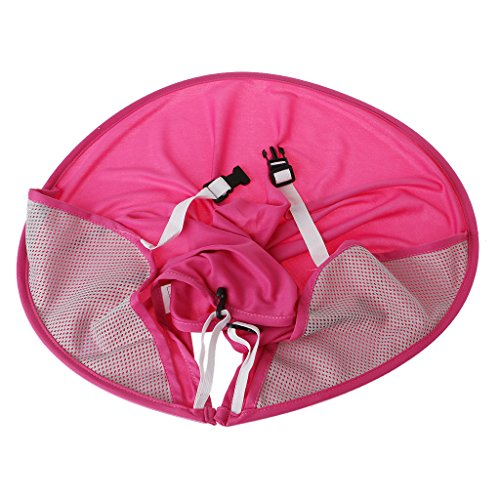 Shoresu Baby Stroller Sunshade Canopy Cover For Prams compatible with Yoya yoyo babythrone Strollers Prams Cap Sun Hood Accessories Pink 88cm