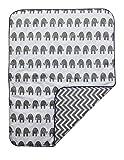 Sahaler Baby Crib Comforter Elephant Crib Bedding Quilt Toddle Cotton Comforter (Elephant)