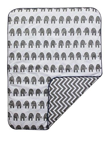 Sahaler Baby Crib Comforter Elephant Crib Bedding Quilt Toddle Cotton Comforter (Elephant) by Sahaler