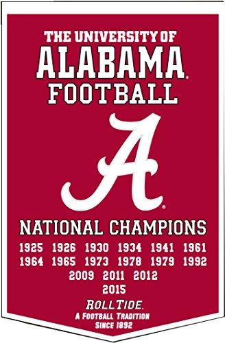 (2016 Alabama Crimson Tide Dynasty Banner)