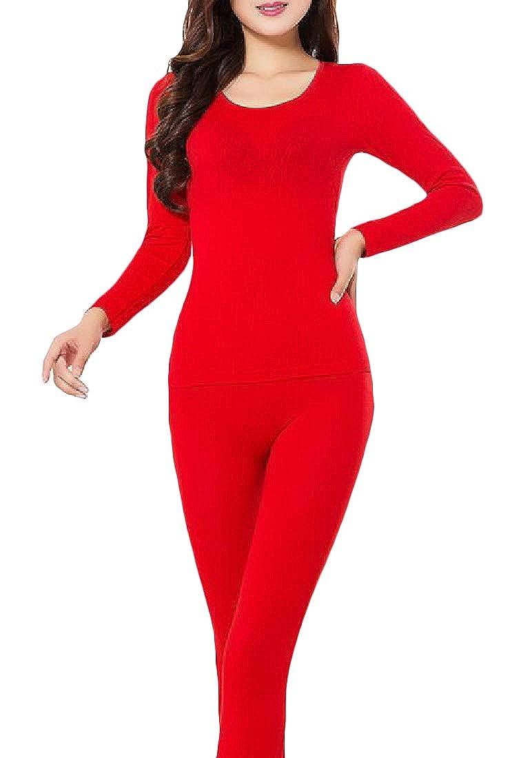 XiaoTianXinWomen XTX Women's Base Layer Seamless Comfort Thermal Underwear Sets