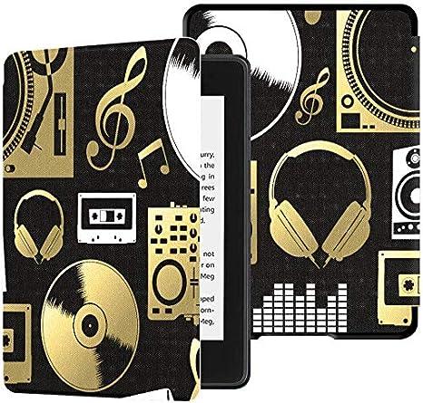 Cubiertas de Ereader para Kindle Paperwhite 2018 Vintage Music ...