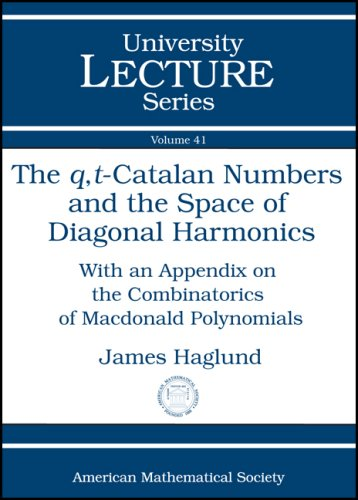 The $q,t$-Catalan Numbers and the Space of Diagonal Harmonics (University Lecture Series) (Catalan Numbers compare prices)