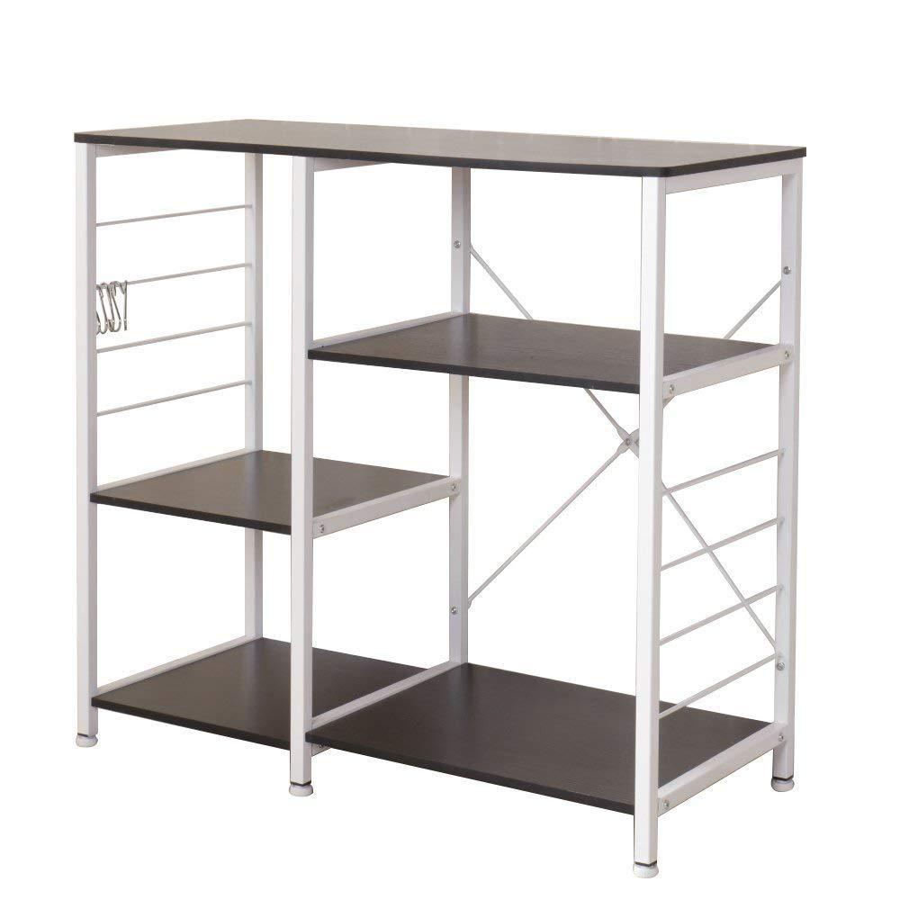 Soges Acero inoxidable Estante de cocina Estante de horno microondas, Multi-función Utensilios de cocina Estantes de almacenamiento: Amazon.es: Hogar