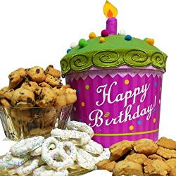 Art of Appreciation Gift Baskets Happy Birthday Cupcake, Cookie and Treats Box from Art of Appreciation Gift Baskets