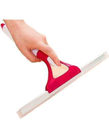 Hosaire Limpiacristales Limpiador de Ventanas Limpiaventanas Escobilla de Goma para la Ducha de Limpieza Limpiador de