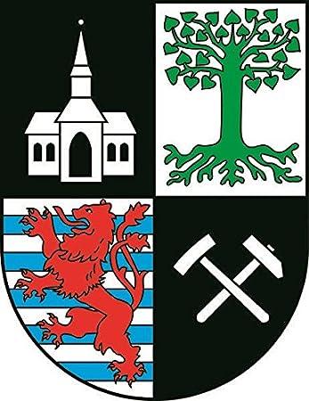 U24 Aufkleber Gelsenkirchen Wappen Autoaufkleber Sticker Konturschnitt Auto