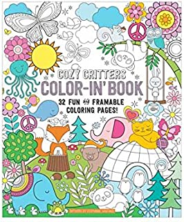 Amazon Com Design Originals Happy Campers Coloring Book Home Kitchen Cover Ooly