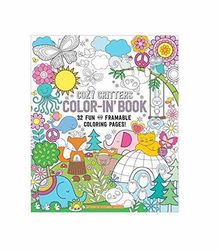 OOLY, Coloring Book, Cozy Critters, 32 Pages, 9 x 12 (118-156)