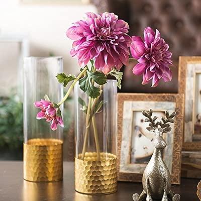 ZHUDJ El Hombre Un Salón Elegante Decoración Floral Deja Una Mesa ...