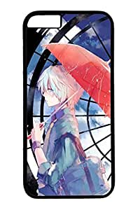 Blue Red Bow Slim Soft Cover For Iphone 6 Plus 5.5 Inch Cover Case PC Transparent Cases