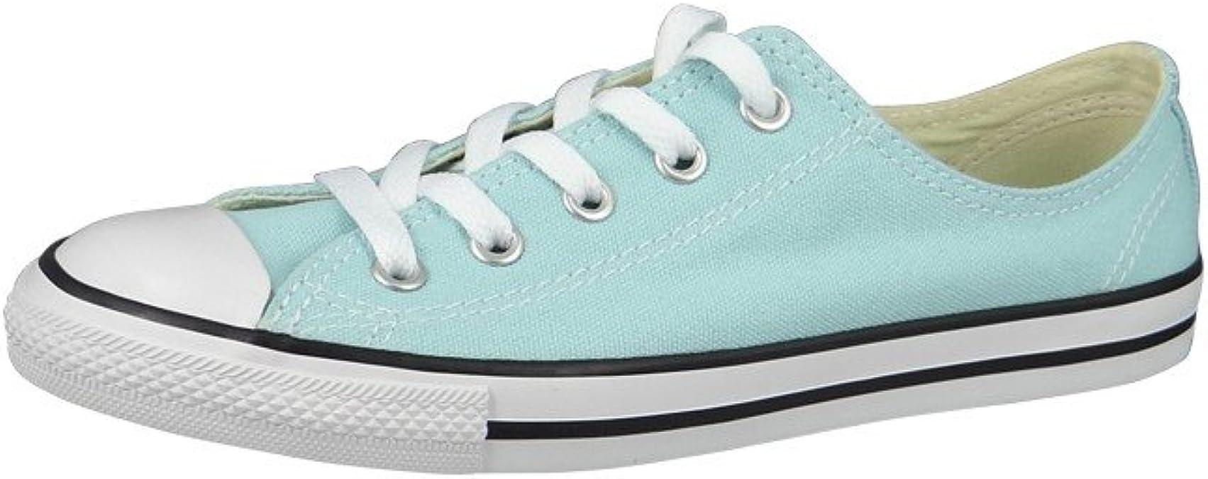 Converse All Star Dainty Ox Femme Baskets Mode Bleu: Amazon ...