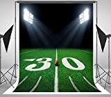 5X7FT football themed sports soccer field Background for NFL portrait cloth Computer printed children party stadium backdrops DD-yanyang-0585