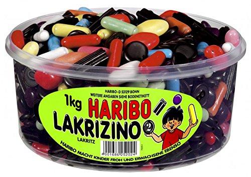 Haribo Lakrizino, 1er Pack (1 x 1 kg Dose)