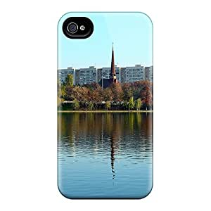UaN12547IoIb Faddish Church Lake Reflection Cases Covers For Iphone 6plus