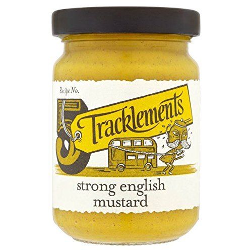 Tracklements Strong English Mustard - 140g