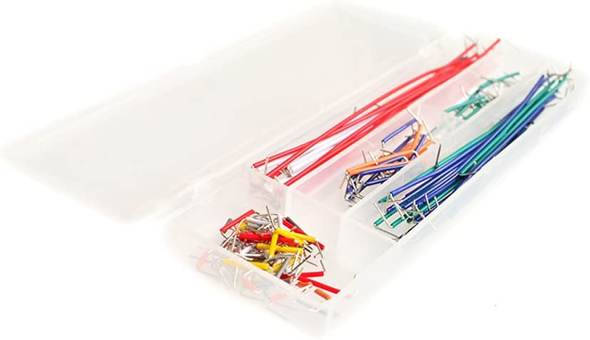 10SETS//LOT 140 pcs U Shape Solderless Breadboard Jumper Cable Wire Kit Shield For raspberry pi