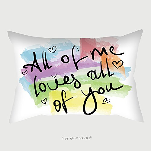 Dolphins Velvet Poster (Custom Microfiber Pillowcase Protector All Of Me Loves All Of You Romantic Love Quote Note As Greeting Card Postcard Poster Sticker 304172153 Pillow Case Covers Decorative)