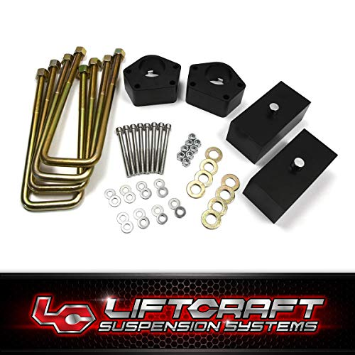 - Liftcraft - Fits 1986-1995 Toyota Pickup and 1993-1998 T100 IFS Lift Kit 3 Inch Front Lift High-Crystalline Delrin Spacers + 2 Inch Rear Billet Lift Blocks + Extended U-Bolts 4WD