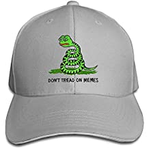 Small Sun Men Sandwich Cool Trucker Hat Pepe Frog Don't Tread On Memes