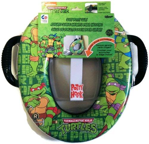 Teenage Mutant Ninja Turtles Soft Potty Seat with Potty Hook for Hanging