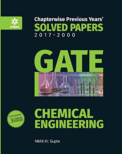 Download Chemical Engineering Solved Papers GATE 2018 pdf epub