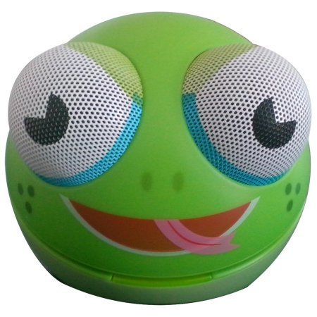 Zoo Tunes MCS10 Portable Character Stereo Speaker Frog