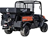 SaltDogg SHPE0750 Electric Poly Hopper Spreader 0.75 Cubic Yards Black