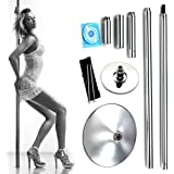 X-Dance 45mm Portable Removable Dance Pole Fitness Exercise with Carry Case