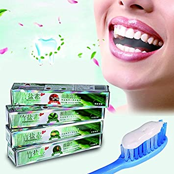 Amazon Com 100g Whitening Bamboo Salt Toothpaste Charcoal