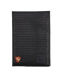 Lewis N. Clark - Funda para pasaporte con bloqueo RFID, Negro, Una talla