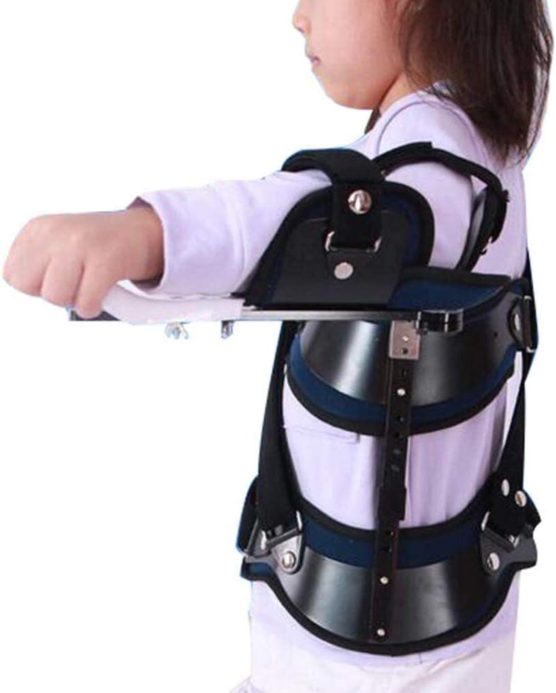 WANGPP Abducción del Hombro del niño Fijo Hombro Brace Soportes Ajustables de Hombro de los inmovilizadores Adecuado for niños de 5-12 humeral Fractura-dislocación Ortesis 11.6