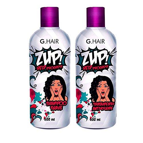 G Hair Zup Trattamento di Stiratura per Capelli (2 X 500ML)
