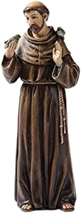 Roman Renaissance Collection Joseph's Studio Exclusive Saint Francis Figurine, 6.25-Inch
