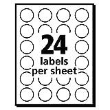 Avery Print/Write Self-Adhesive Removable