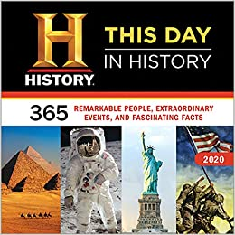 Best History Books 2020 2020 History Channel This Day in History Wall Calendar: 365