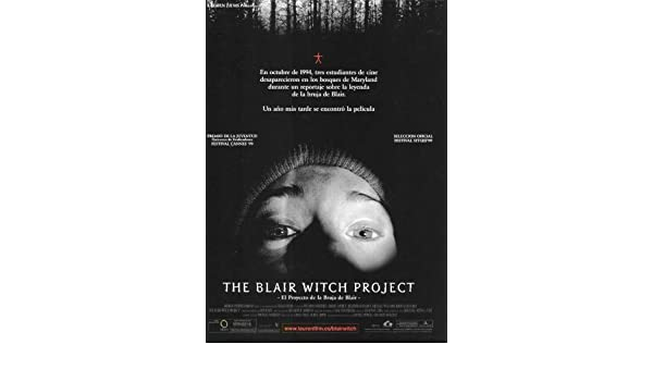 Amazon.com: The Blair Witch Project Poster Spanish 27x40Michael WilliamsHeather Donahue Joshua Leonard: Kitchen & Dining