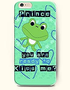 iPhone 6 Plus Case 5.5 Inches Prince, You Are Ready to Kiss Me? - Hard Back Plastic Case OOFIT Authentic