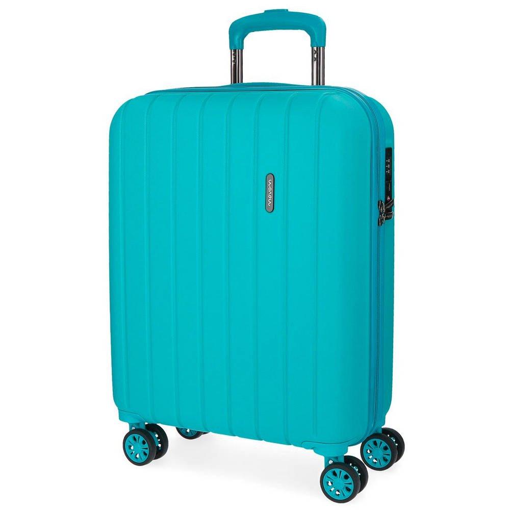 Wood Bagaglio a mano, 55 cm, 43 liters, Blu (Azul) Movom 5319167