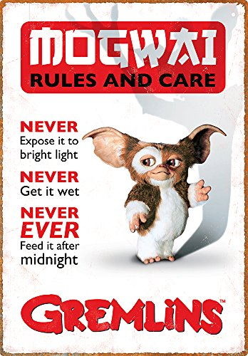 Aquarius Gremlins Rules Tin -